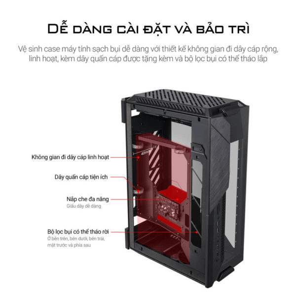 Asus Rog Z11 Mini Itx Unleased Case 06
