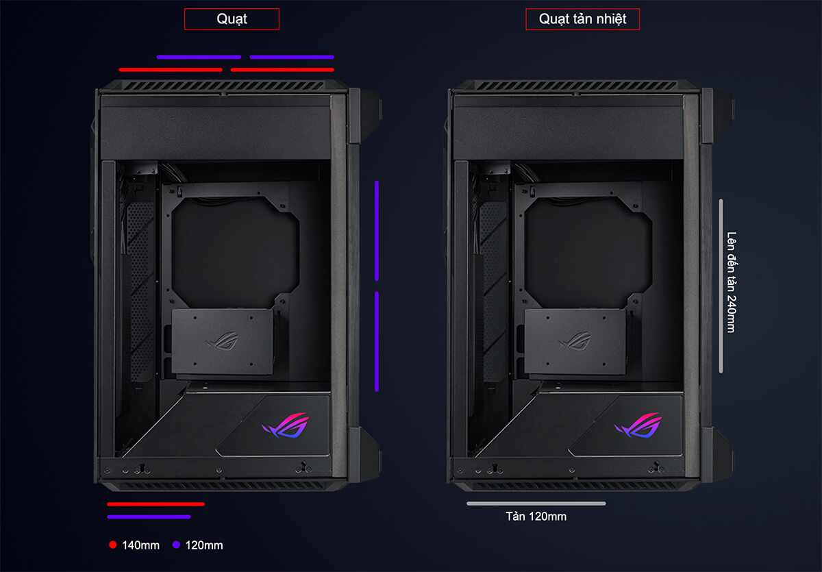 Asus Rog Z11 Mini Itx Unleased Case Feature 04