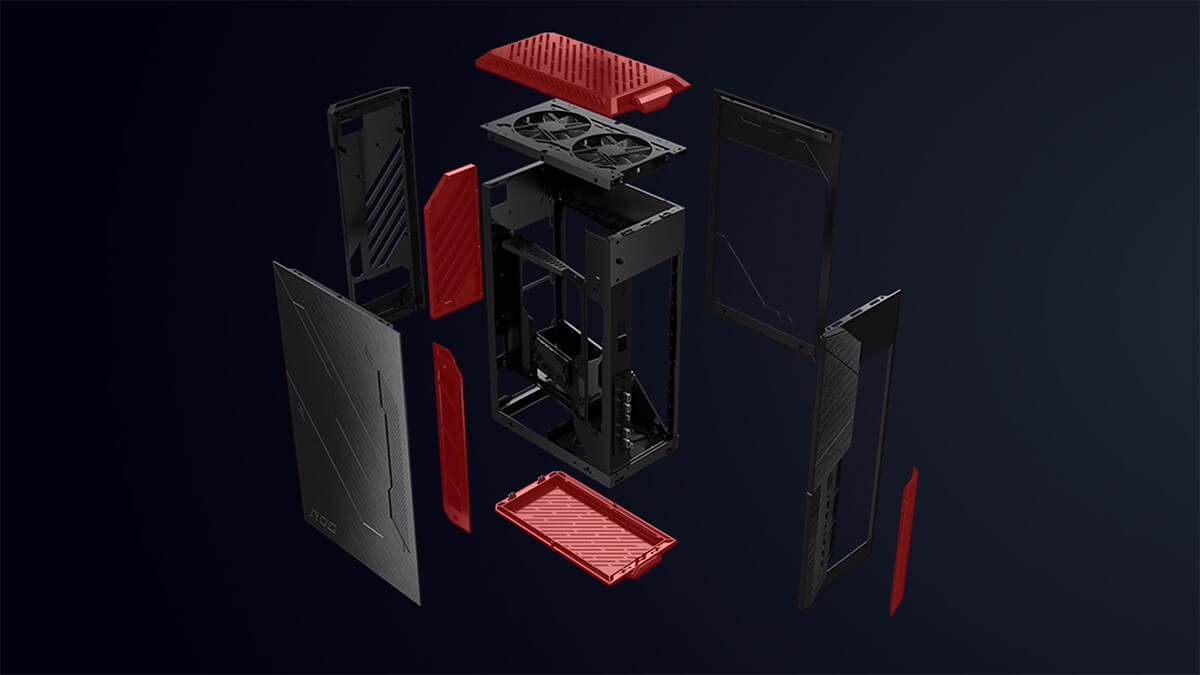 Asus Rog Z11 Mini Itx Unleased Case Feature 07