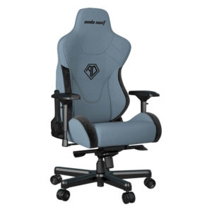 Andaseat T Pro 2 Smooth Line Fabric Gaming Chair (blue) H3