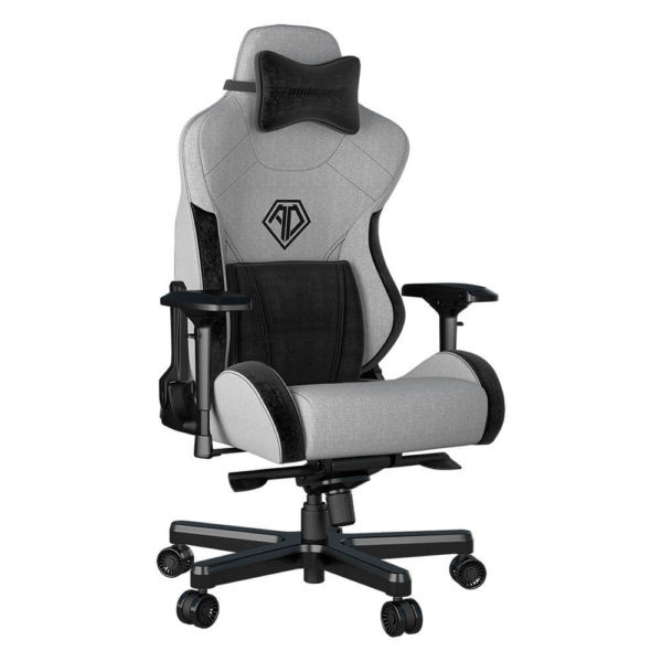 Andaseat T Pro 2 Smooth Line Fabric Gaming Chair (grey) H3