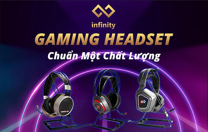 Banner Main Infinity Gaming Headset