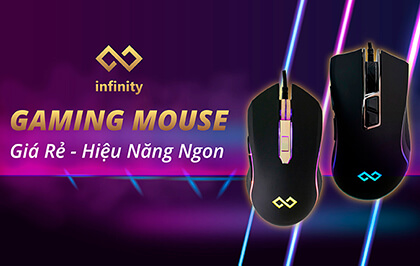 Banner Mobile Main Infinity Gaming Mouse