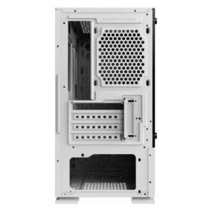Case Xigmatek Nyc Artic White Mini Tower Case 03