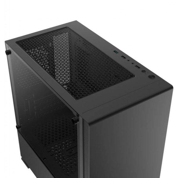 Case Xigmatek Nyc Black Mini Tower Case 03