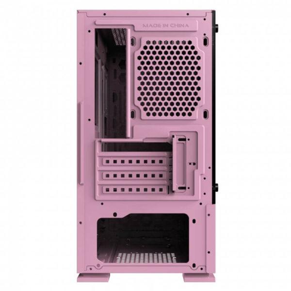Case Xigmatek Nyc Queen Pink Mini Tower Case 02