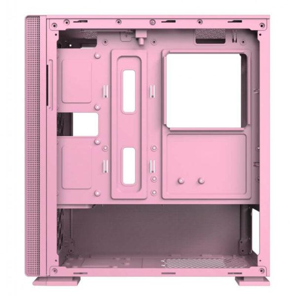 Case Xigmatek Nyc Queen Pink Mini Tower Case 03