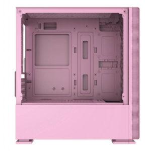 Case Xigmatek Nyc Queen Pink Mini Tower Case 04