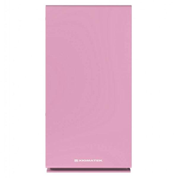 Case Xigmatek Nyc Queen Pink Mini Tower Case 05