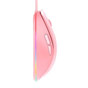 Dareu Em908 Rgb Queen Pink Gaming Mouse 2