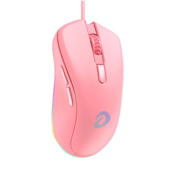 Dareu Em908 Rgb Queen Pink Gaming Mouse 3