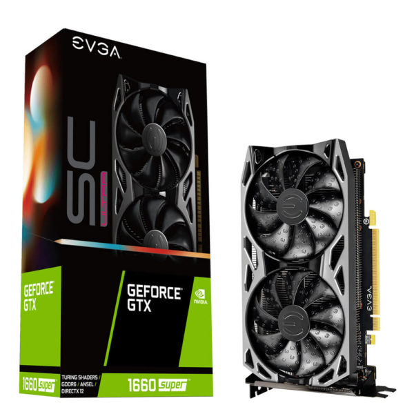 Evga Geforce Gtx 1660 Super Sc Ultra Gaming 6gb Gddr6 H1