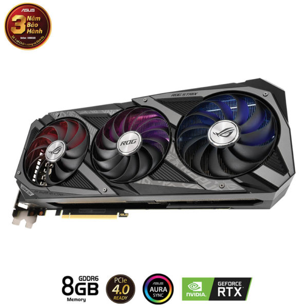 Rog Strix Rtx3060 Ti 8g Gaming H4