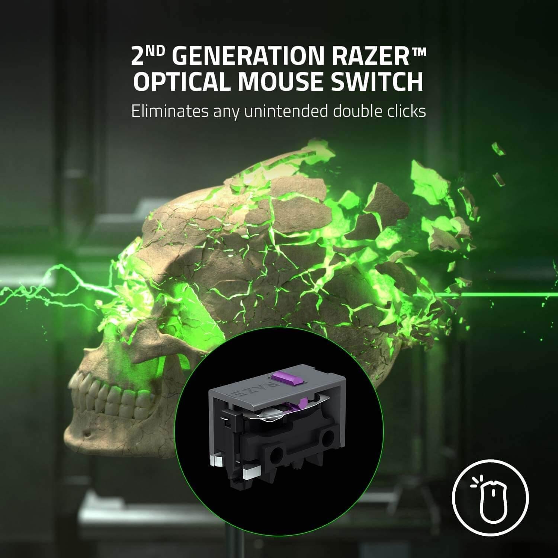 Razer Deathadder V2 Pro Ergonomic Wireless Gaming Mouse Features 3
