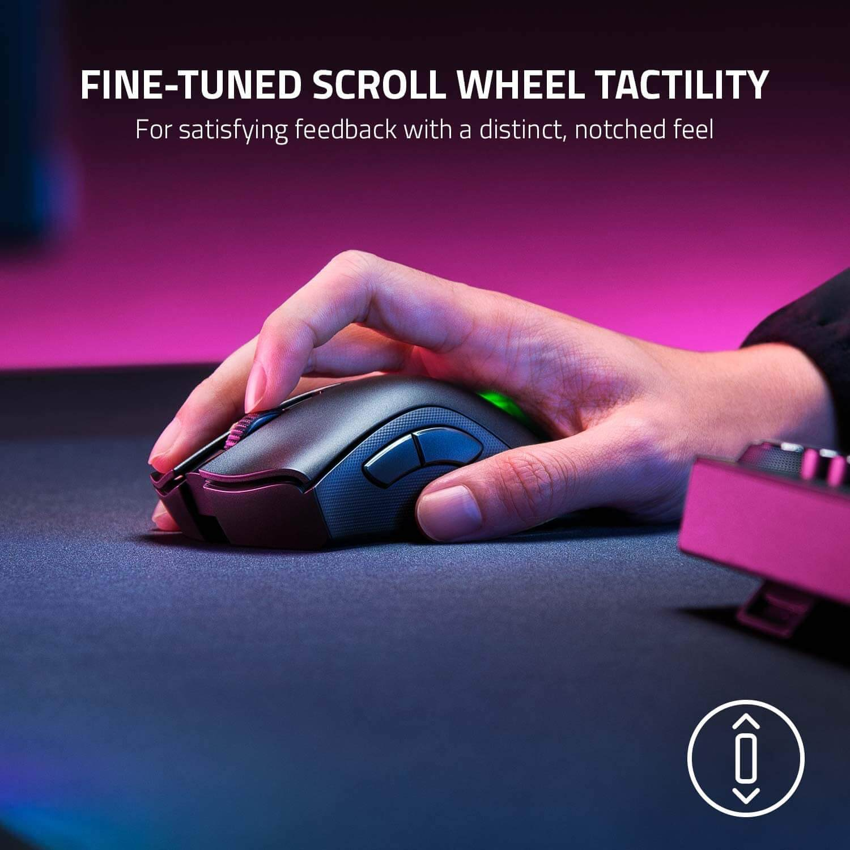 Razer Deathadder V2 Pro Ergonomic Wireless Gaming Mouse Features 5