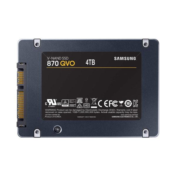 Samsung 870 Qvo 4tb 2.5 Inch Sata3 Ssd H2