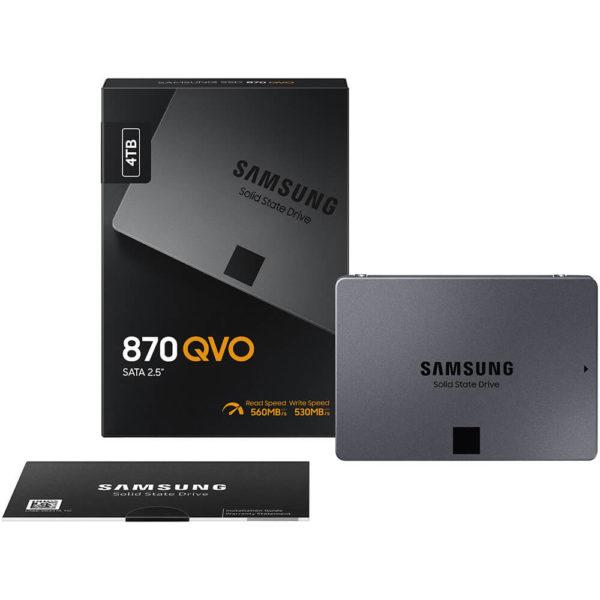 Samsung 870 Qvo 4tb 2.5 Inch Sata3 Ssd H3