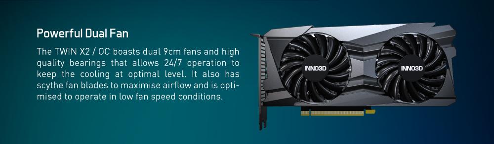 Inno3d Geforce Rtx 3060 Ti Twin X2 Oc 32499 5