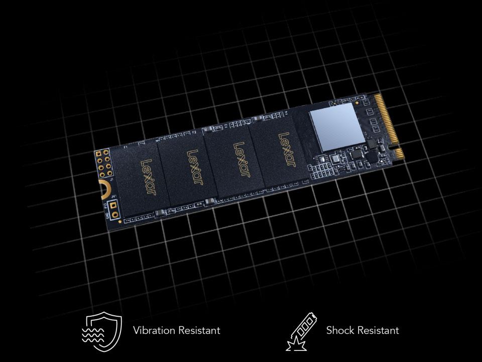 SSD Lexar NM610 M.2 2280 NVMe 250GB