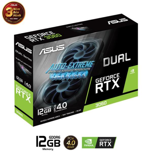 Asus Dual Geforce Rtx™ 3060 12gb H2