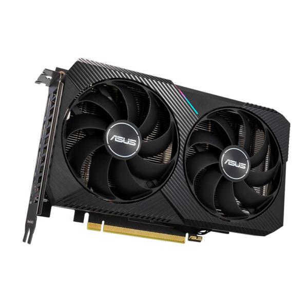 ASUS DUAL GeForce RTX™ 3060 OC Edition 12GB GDDR6