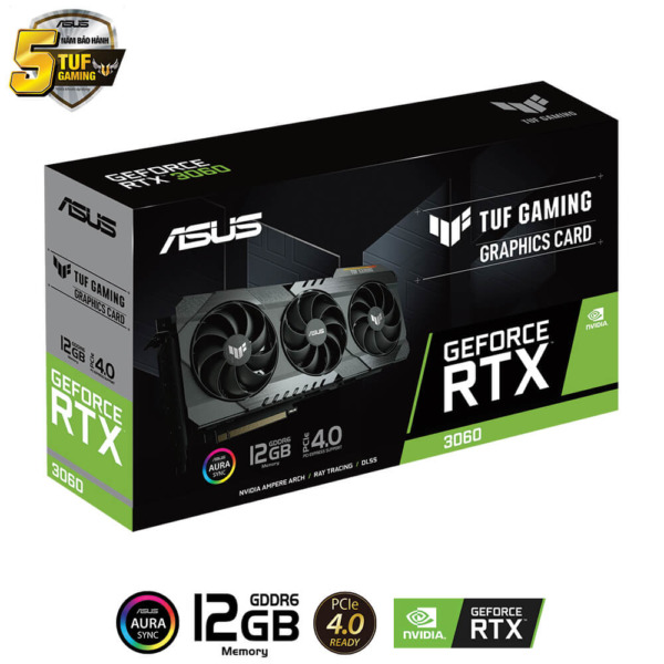 Asus Tuf Gaming Geforce Rtx™ 3060 12g H2