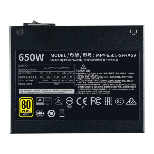 Cooler Master V650 Sfx Gold 650w H5
