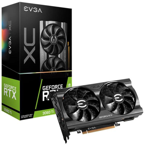 Evga Geforce Rtx 3060 Ti Xc Gaming 8gb Gddr6 H1