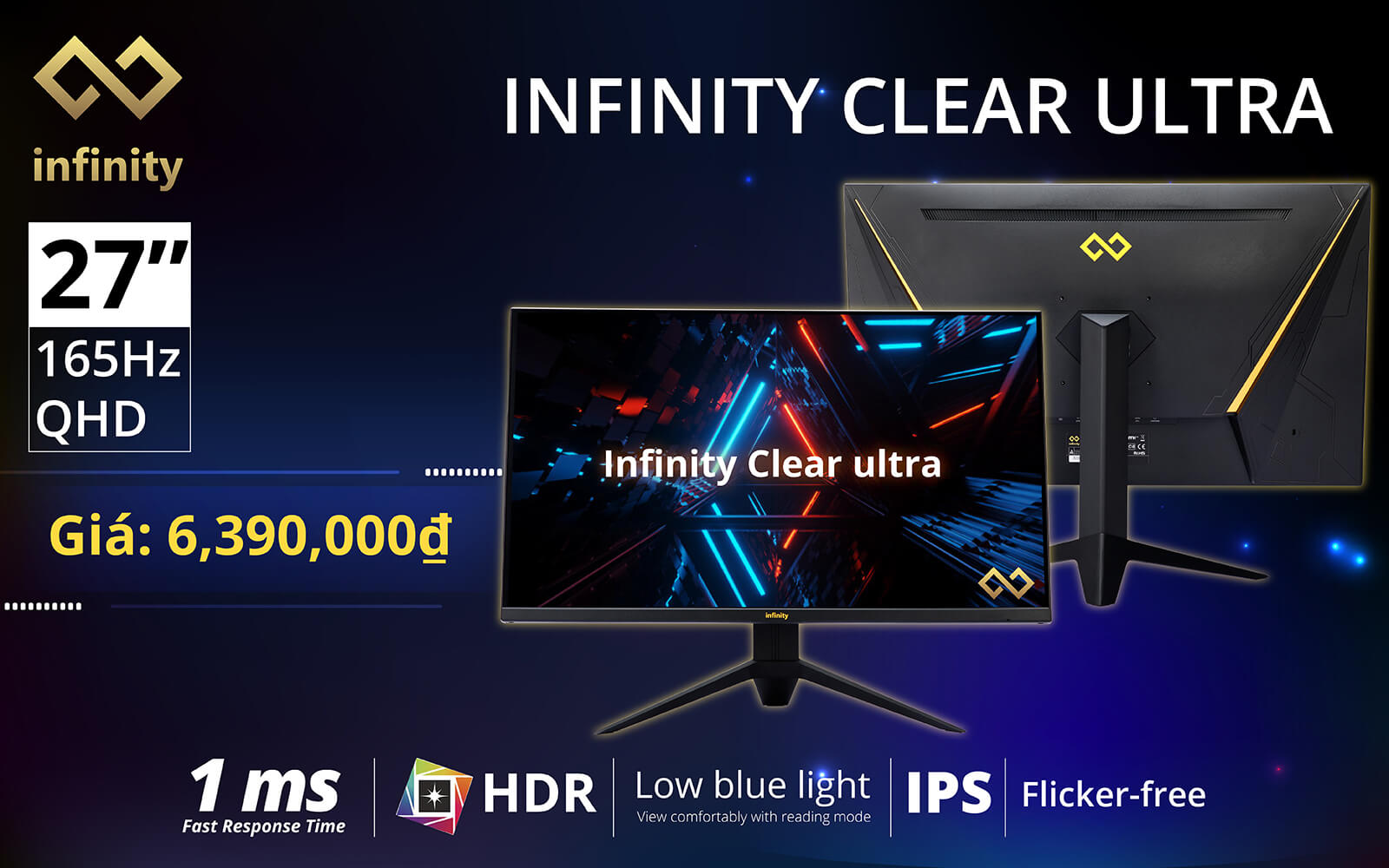 Infinity Ultra Clear 2k Hdr Ips 165hz Features 1