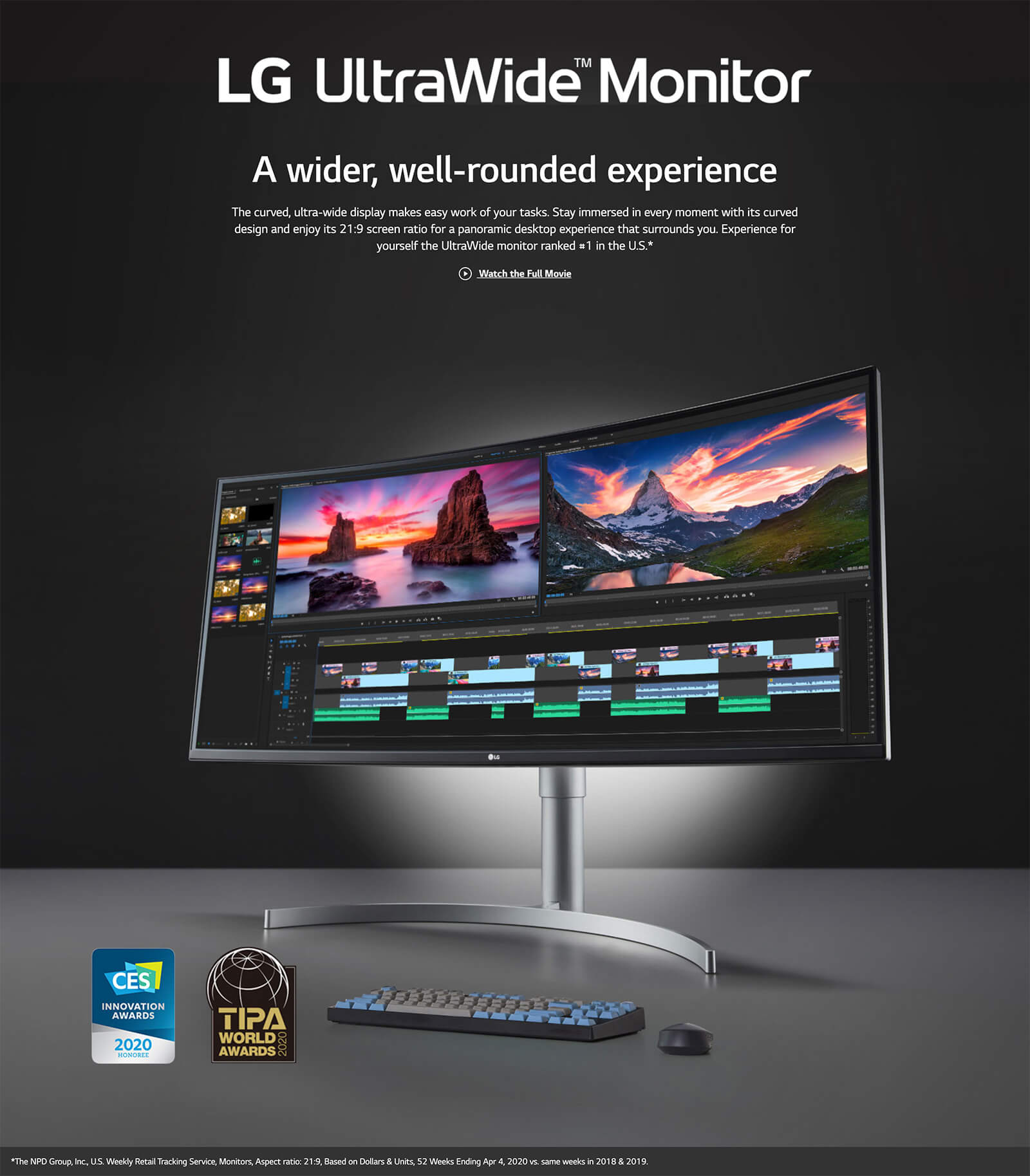 Lg 38wn95c W 38″ Ultrawide Qhd+ Ips Curved Monitor Features 01