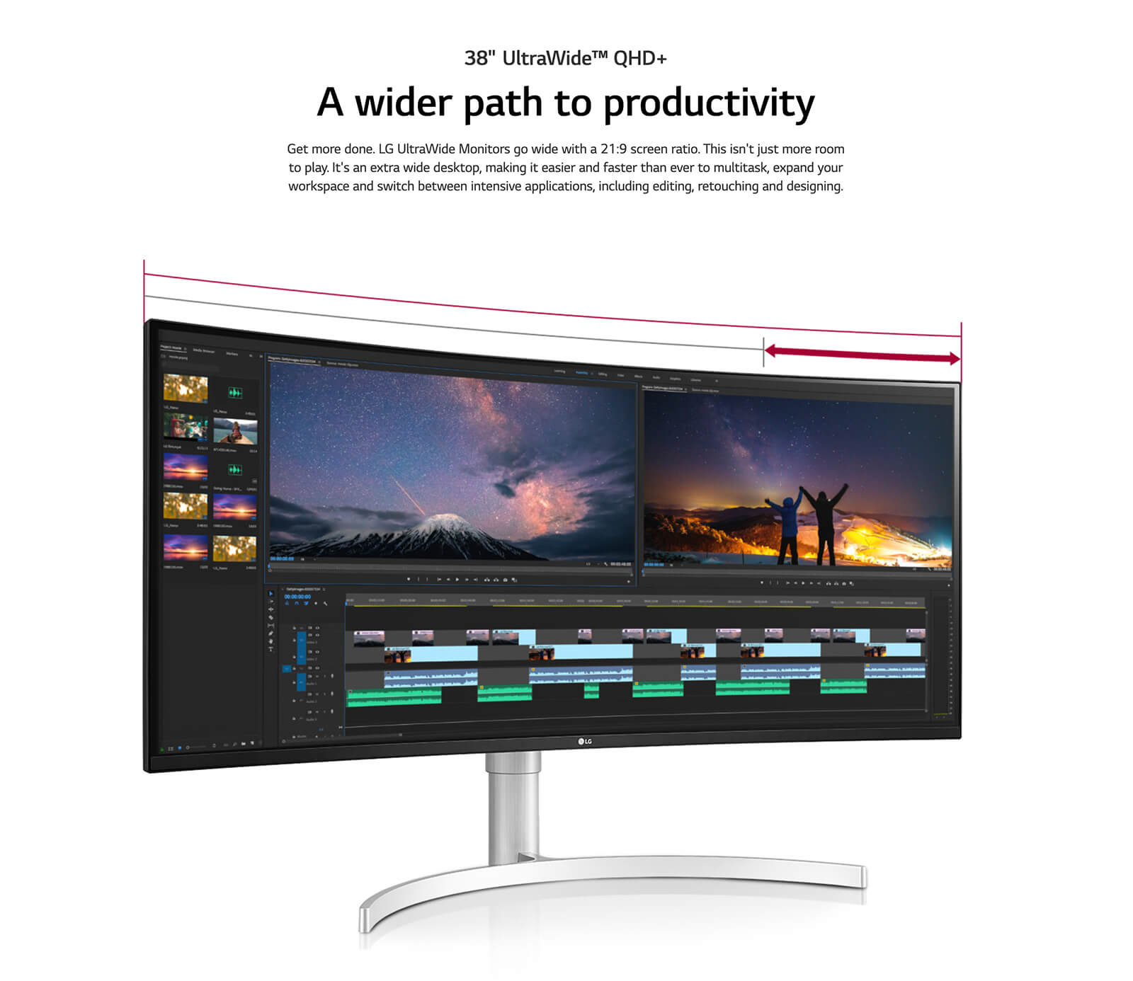 Lg 38wn95c W 38″ Ultrawide Qhd+ Ips Curved Monitor Features 02