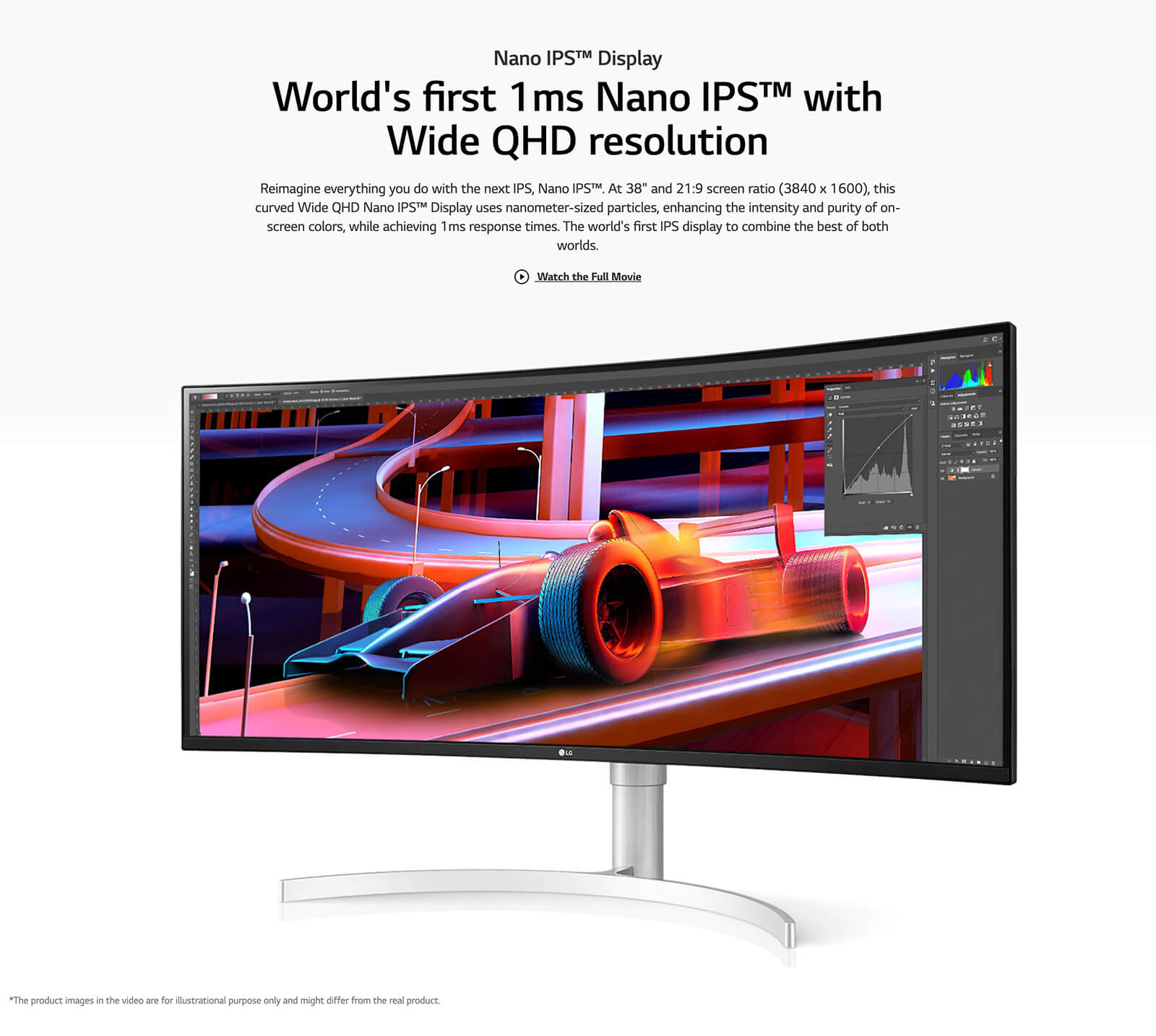 Lg 38wn95c W 38″ Ultrawide Qhd+ Ips Curved Monitor Features 03