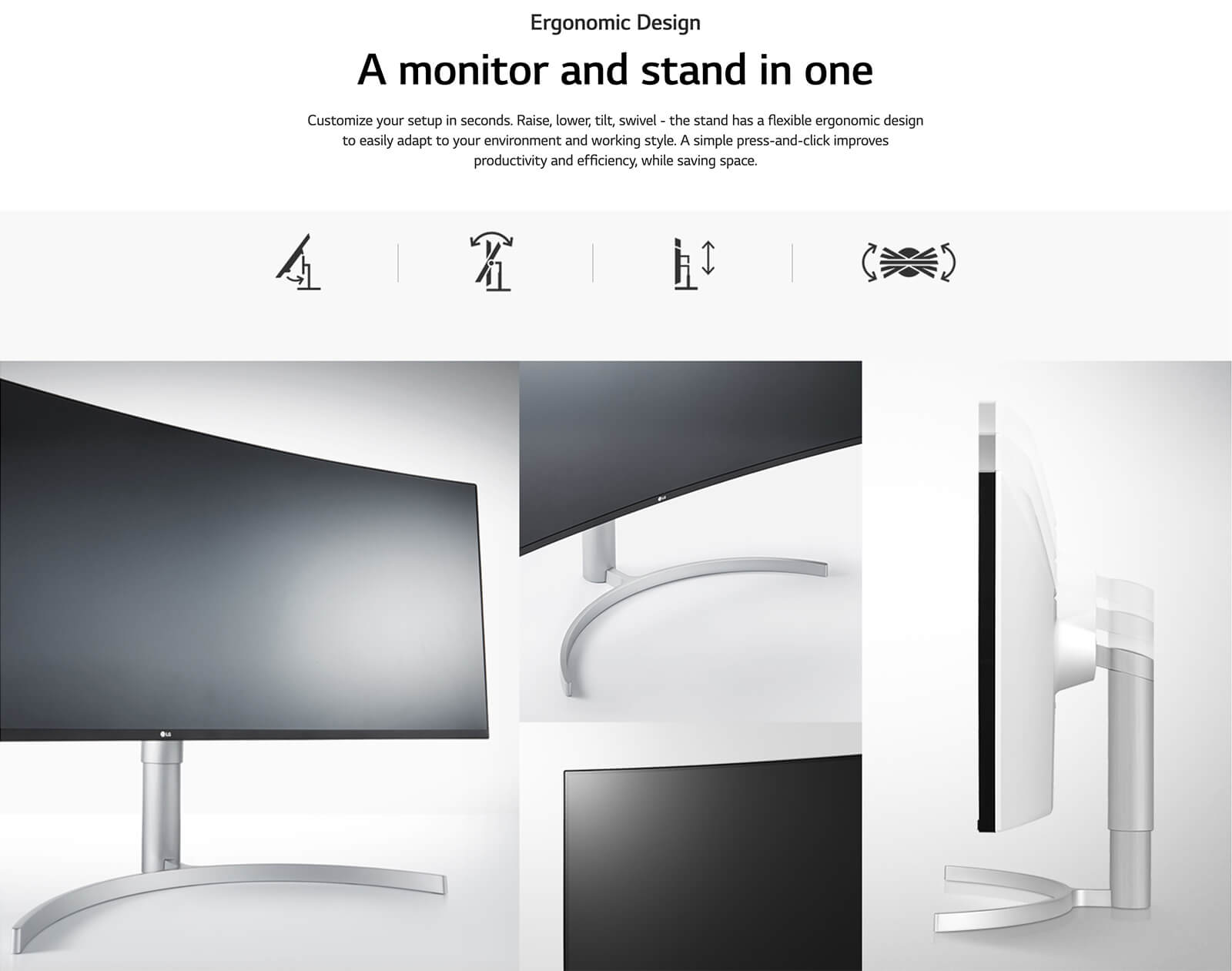 Lg 38wn95c W 38″ Ultrawide Qhd+ Ips Curved Monitor Features 09