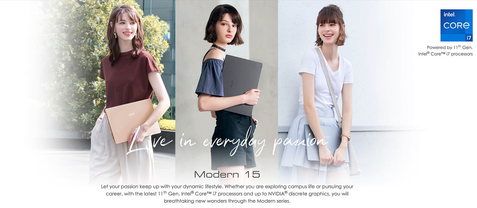 Giới thiệu chung MSI Modern 15