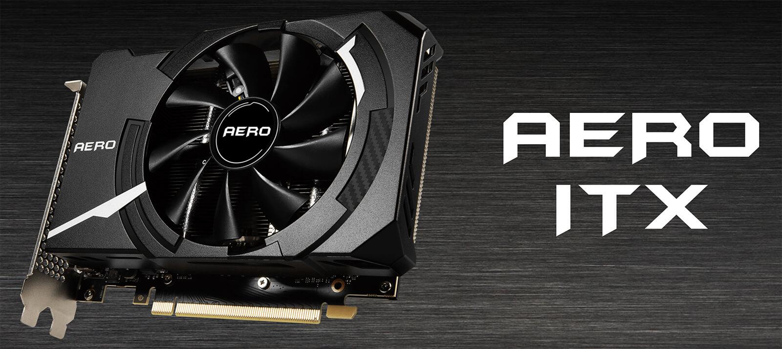 Msi Geforce Rtx™ 3060 Aero Itx 12g Oc Features
