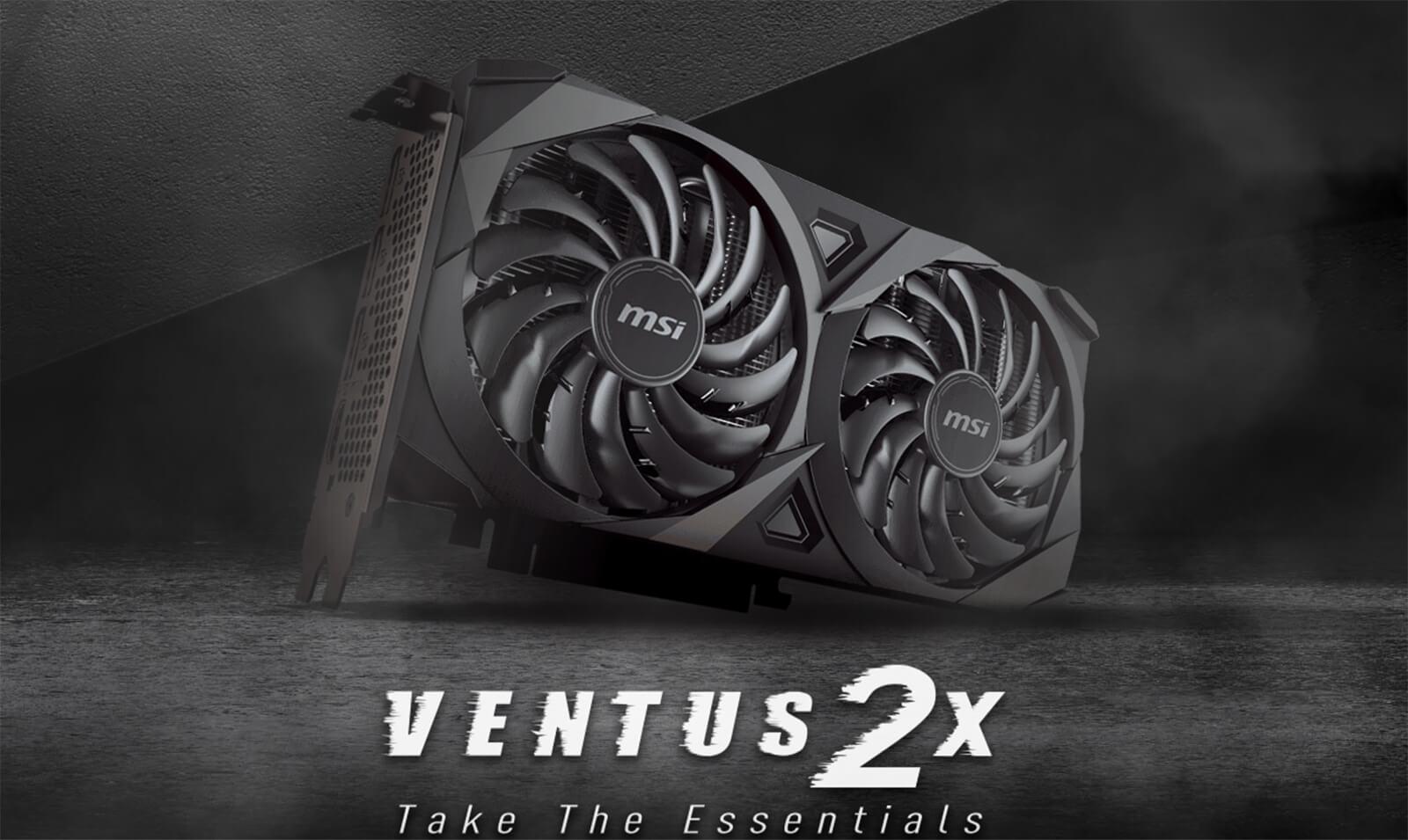 Msi Geforce Rtx™ 3060 Ventus 2x 12g Oc Features