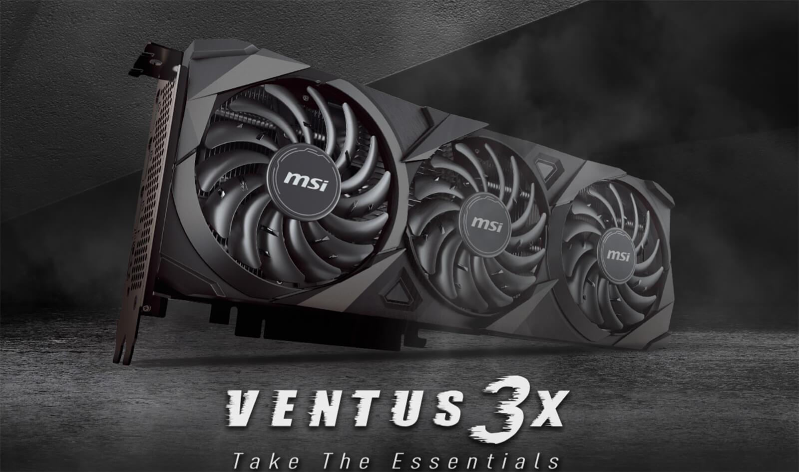 Msi Geforce Rtx™ 3060 Ventus 3x 12g Features