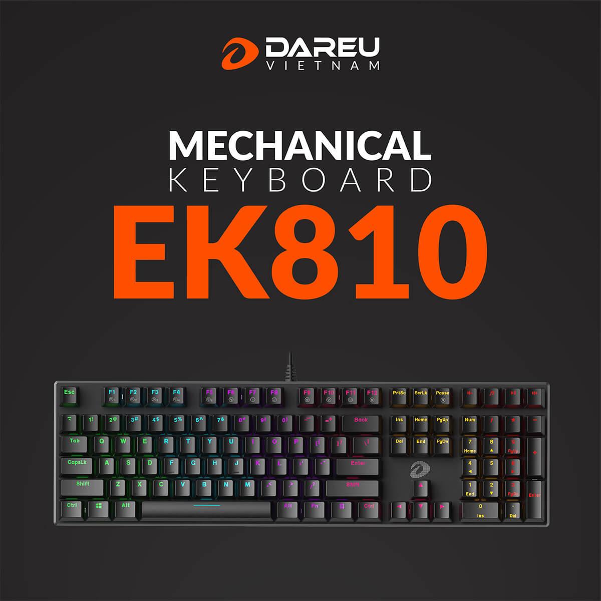 Phím Cơ Dareu Ek810 Features
