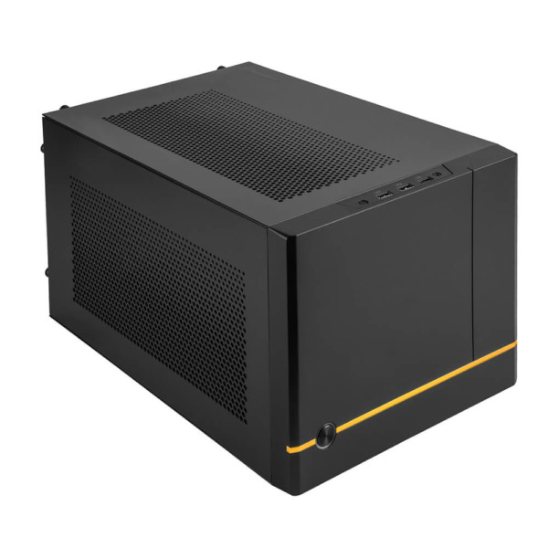 Silverstone Sg14 Black Mini Itx Case H2
