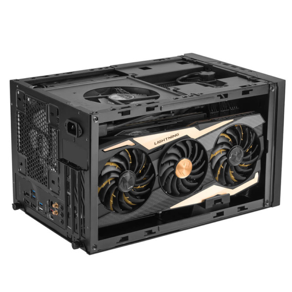 Silverstone Sg14 Black Mini Itx Case H8