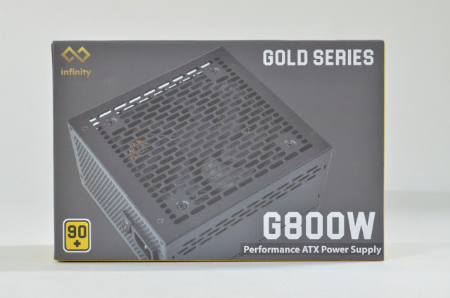 Infinity Gold G800W - 80 Plus Gold - Active PFC - Full Modular