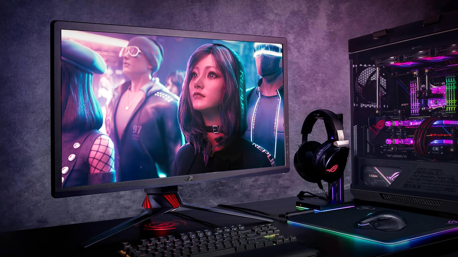 Asus Rog Strixxg27uq Gaming Monitor – Features 01