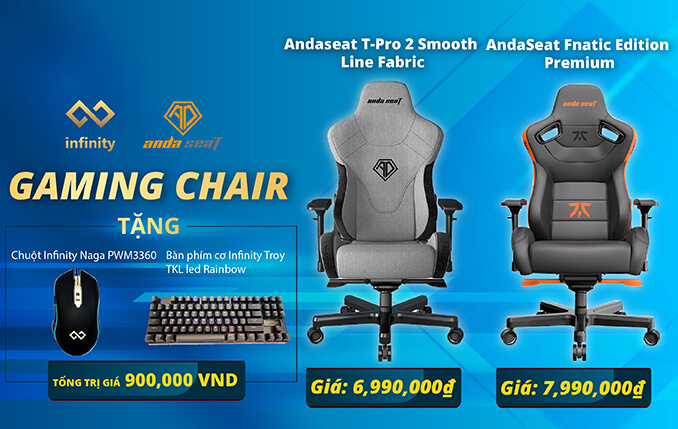 Banner Gaming Chair Andaseat 2021