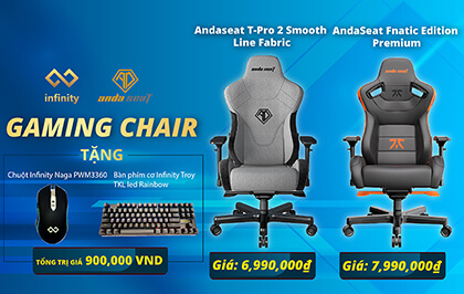 Bannermobile Gaming Chair Andaseat 2021