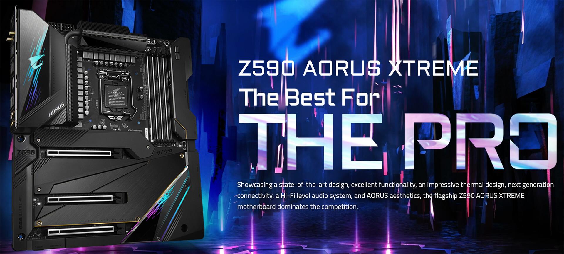 Gigabyte Z590 Aorus Xtreme (rev 1.0) Socket 1200