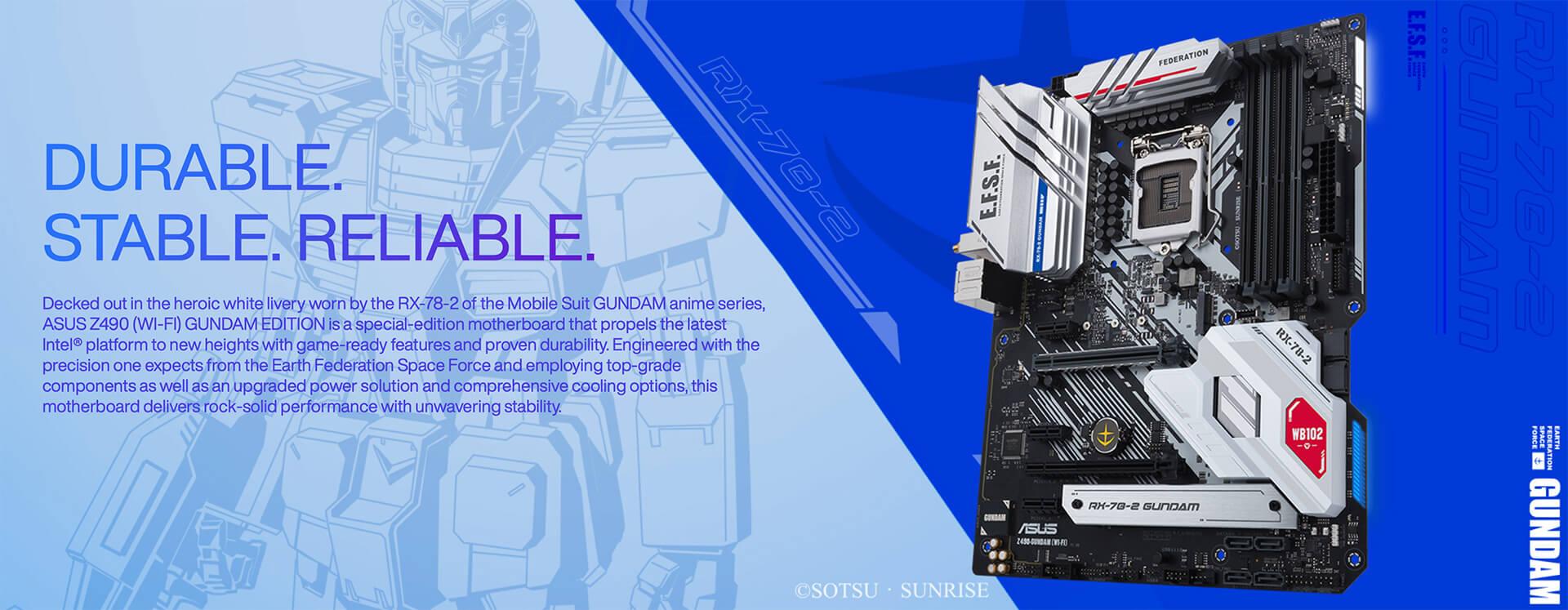 Asus Z490 Gundam Edition (wi Fi) Socket 1200