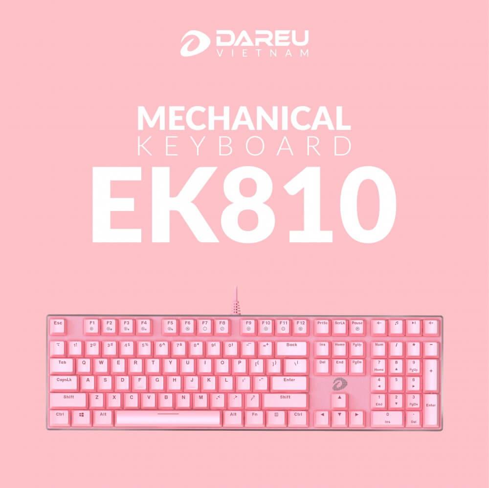 Dareu Ek810 Queen Pink Features