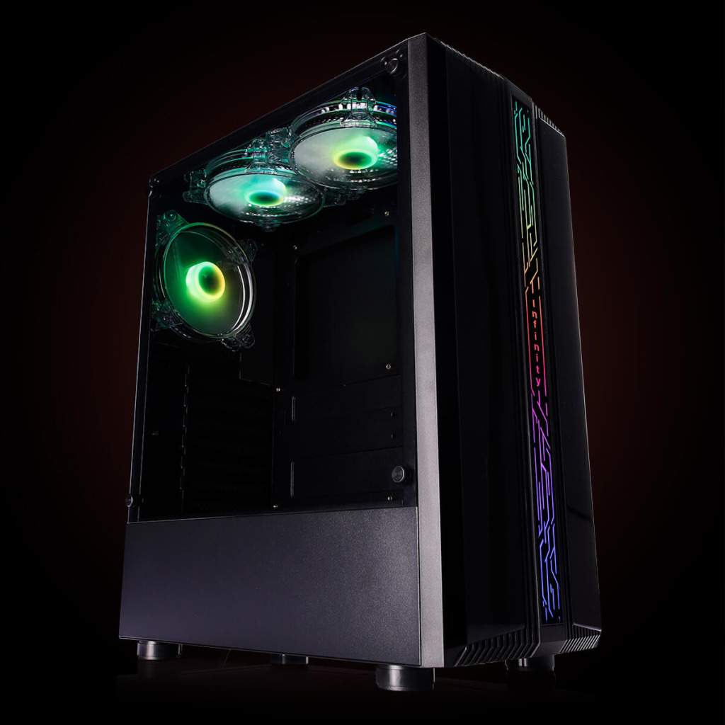 Infinity Denki Pro – Tempered Glass Gaming Case Features H3