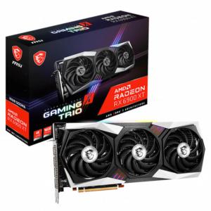 Msi Radeon™ Rx 6900 Xt Gaming X Trio 16g 16gb Gddr6 H1