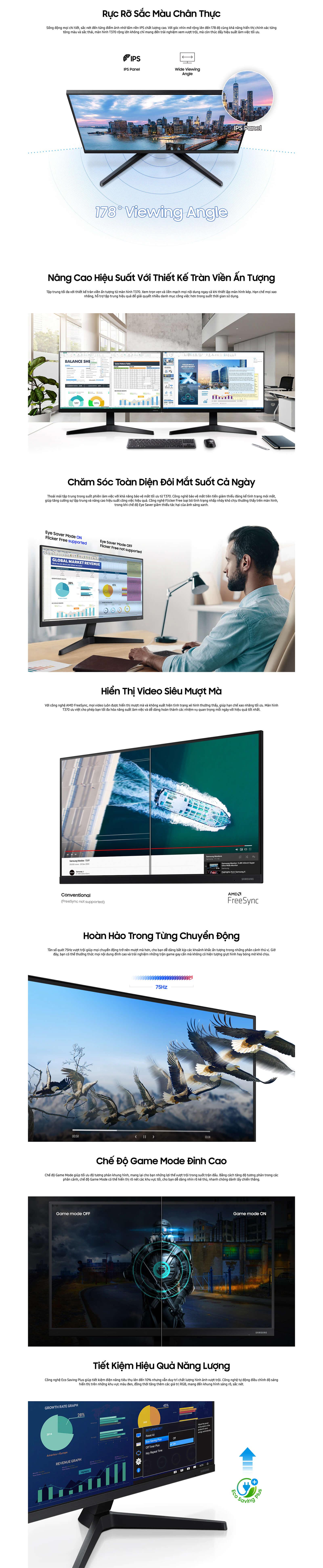 Samsung 24 inch LF24T370FWEXXV (FHD, 75Hz, IPS, 5ms)